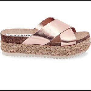 Steve madden Arran Platform espadrille sandal